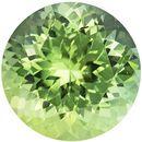 8.2 mm, 2.24 carats Stunning Green Tourmaline in Intense Mint Green Round Cut