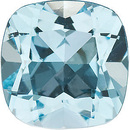 Natural Quality Loose Cut Antique Square Shape Sky Blue Topaz Gemstone Grade AAA, 6.00 mm in Size, 1.25 Carats