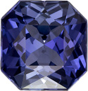 Color Change Blue - Violet Sapphire Gem in Radiant Cut, GIA Certed Unheated in 8.55 x 8.22 x 5.4 mm, 3.31 carats