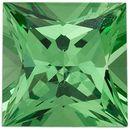 Discount Tsavorite Garnet Gemstone, Princess Shape, Grade AA, 3.00 mm in Size, 0.15 carats