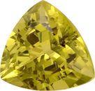 Dreamy Unheated Mali Grossular Garnet Loose Gemstone - Great Centergem, Best Buy! Trillion Cut, 5.31 carats