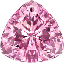 Excellent Cut and Clarity! Classy Light Pink Tourmaline  Gem from Nigeria, Trillion Cut, 5.53 carats