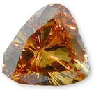 Fancy Brownish Orangey Yellow Diamond 0.42 carats