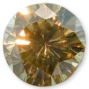 Fancy Light Brown Diamond 0.98 carats