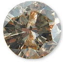 Fancy Light Brownish Yellow Diamond 0.64 carats