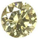 Fancy Yellow Genuine Diamonds in Round Brilliant Cut