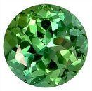 Fantastic Green Tourmaline Natural Gemstone for SALE,  Round Cut, 8.2 x 8.2 mm, 2.43 carats