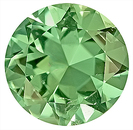 Fantastic Mint Green Tourmaline Natural Gemstone for SALE,  Round Cut, 8.5 x 8.5 mm, 2.01 carats