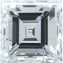 Genuine Diamonds in Square Step Cut - GH Color - SI Clarity