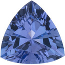 Genuine Loose Calibrated Size Trillion Shape Tanzanite Gem Grade AA, 3.00 mm in Size, 0.1 Carats