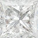 Genuine Princess Cut Diamonds in E Color - VS Clarity