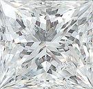 Genuine Princess Cut Diamonds in GH Color- SI Clarity