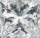 Genuine Princess Cut Diamonds in IJ Color - SI Clarity