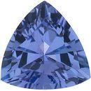 Genuine Tanzanite Gemstone, Trillion Shape, Grade AA, 6.00 mm in Size, 0.75 Carats