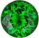 Genuine Tsavorite Garnet Gemstone, Round Shape, Grade AAA, 5.00 mm in Size, 0.6 carats