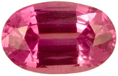 Glorious Pink Sapphire Genuine Gemstone, Oval Cut, 1.54 carats