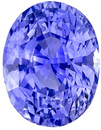 Great Buy in Rich Cornflower Blue Sapphire from Ceylon in Oval Cut, Fiery Gem in 9.8 x 7.6 mm, 4.09 carats