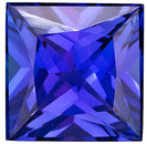Hard to Find Princess Shape, Beautiful Tanzanite for SALE!, Princess cut, 3.5 carats