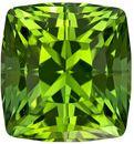 Killer High Color Tourmaline Intense Mint Green Color, Cushion Cut in 10.5 x 9.8 mm 6.49 carats