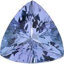 Loose Tanzanite Gem, Trillion Shape, Grade A, 5.00 mm in Size, 0.45 Carats