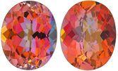 MYSTIC SUNRISE TOPAZ Oval Cut Gems  - Calibrated