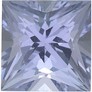 Natural Quality Loose Princess Shape Tanzanite Gem Grade A, 2.00 mm in Size, 0.06 Carats