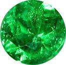 Rich Vivid Green Paraiba Tourmaline Gemstone from Brazil, 7mm, 1.39 carats