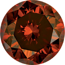 Buy Enhanced Orange Diamond Melee, Round Shape, SI Clarity, 1.00 mm in Size, 0.01 Carats