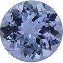 Round Shape Tanzanite Gemstone Grade AA  1.75 mm