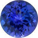 Round Shape Tanzanite Gemstone Grade GEM  4.00 mm