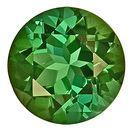 Shimmering Green Tourmaline Genuine Gemstone for SALE,  Round Cut, 8.9 x 8.8 mm, 2.81 carats