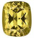 Spectacular Yellow Grossular Garnet Unheated Gemstone Best Price, Antique Cushion Cut, 9.5 x 8.2 mm, 4.05 carats