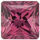 Swarovski Gems Pink Rose Princess Genuine Rhodolite Garnet  in Grade FINE