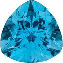 Trillion Cut Genuine Swiss Blue Topaz in Grade AAA