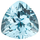 Calibrated Natural Top Quality Trillion Shape Sky Blue Topaz Gemstone Grade AAA, 7.00 mm in Size, 1.5 Carats