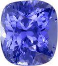 Unheated Cornflower Blue Sapphire GIA Certed Gem in Cushion Cut, 8.37 x 7.37 x 6.34 mm, 3.46 carats