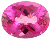 Unusual Large Fine Custom Cut Hot Pink Tourmaline Gemstone 17.62 carats