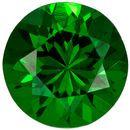 Very Pretty Round Cut Tsavorite Loose Gem, Rich Grass Green, 4.8 mm, 0.54 carats