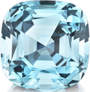 Gorgeous 83 carat German Cut Natural Aquamarine in Cushion Cut, Beautiful Blue in 27.92 x 18.22 mm, 83.34 carats with GIA Cert. - SOLD