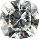 Square Cushion Genuine Charles & Colvard MOISSANITE Grade AAA 4.00 mm to 9.00 mm