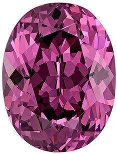 Terrific Buy on Rose Garnet Loose Gem, 3.1 carats, Oval Cut, 9.6 x 7.3  mm , Great Low Price