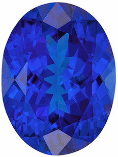 Deal on Genuine Loose Tanzanite Gemstone in Oval Cut, 11.9 x 8.9 mm, Rich Blue Purple, 4.58 carats