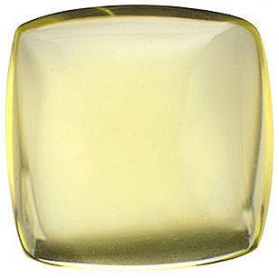 Cabochon Antique Square Lemon Quartz in Grade AA