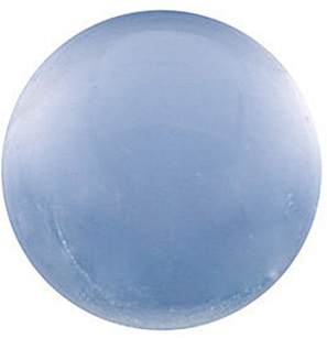 Blue Chalcedony Round Cab in Grade AAA