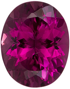 Low Price on  Value Genuine Loose Pink Tourmaline Gem in Oval Cut, 10.9 x 8.7 mm, Rich Rose Pink Color, 3.52 carats