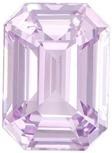 Deal on GIA Certified No Treatment Genuine Purple Sapphire Gem in Emerald Cut, 9.28 x 6.71 in Gorgeous Pastel Lavender, 3.07 carats