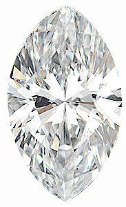 Genuine Marquise Diamond - G-H Color  VS Clarity