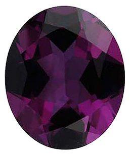 Imitation Alexandrite Oval Cut Stones