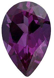 Imitation Alexandrite Pear Cut Stones