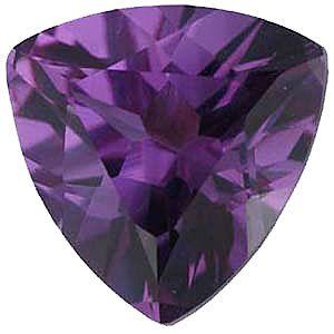 Imitation Alexandrite Trillion Cut Stones